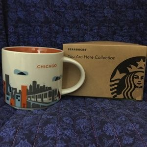 Starbucks Mug-Chicago 2013 You are Here Series NIB